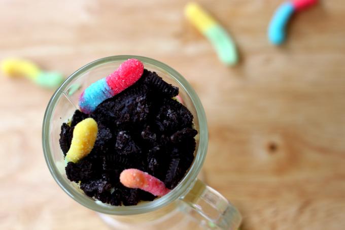 National Gummy Worm Day | A Dirt Dessert
