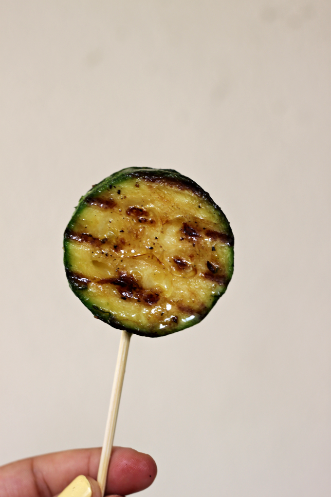 National Lollipop Day | Zucchini Lollipops