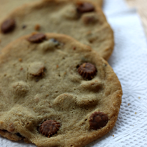 National Chocolate Chip Cookie Day | Chocolate Peanut Butter Cookies