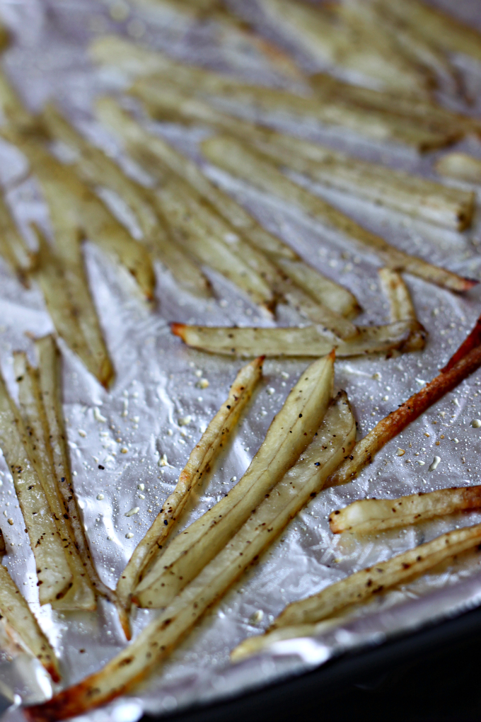 National Julienne Fries Day | Thin-Cut Baked Fries