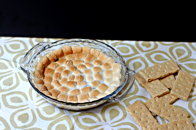 National S'mores Day | S'mores Dip
