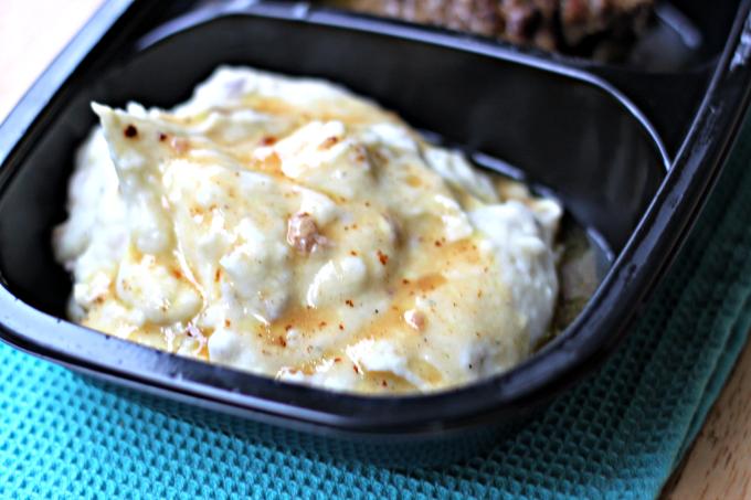 National TV Dinner Day | Salisbury Steak with Roasted Garlic Mashed Potatoes