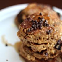 National Pancake Day | Oatmeal Wheat Pancakes