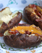 National Potato Day | Boiled Baked Potatoes