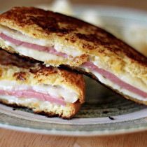 National Bologna Day | Bologna and Pepper Jack Grilled Cheese Sandwich