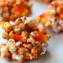 National Candy Corn Day | Candy Corn Popcorn Balls