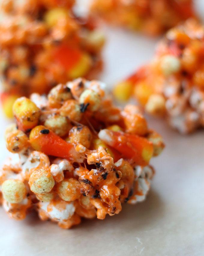 National Candy Corn Day | Candy Corn Popcorn Balls