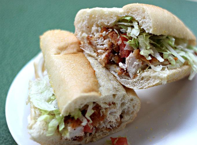 National Submarine-Hoagy-Hero-Grinder Day | Chicken Tender Sub