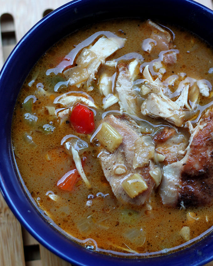 National Gumbo Day   Rabbit and Andouille Sausage Gumbo
