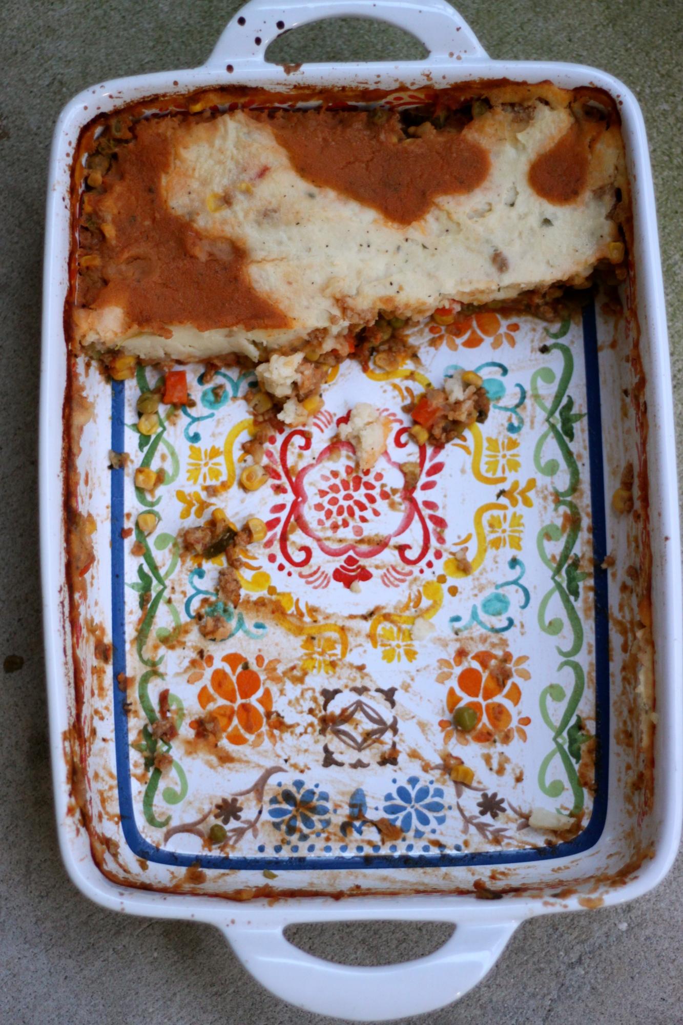 National Pie Day | Italian Shephard's Pie