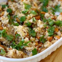 National Cashew Day   Cilantro Soy Rice