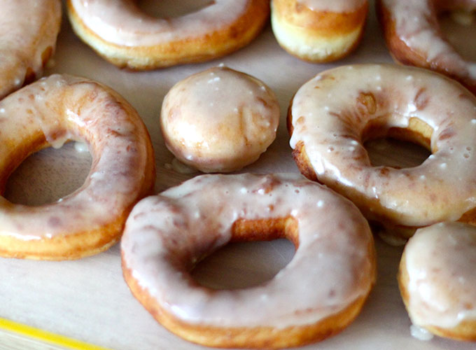 how to make krispy kreme donuts without yeast