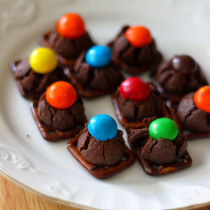 National Candy Day | Pretzel and Chocolate Bites