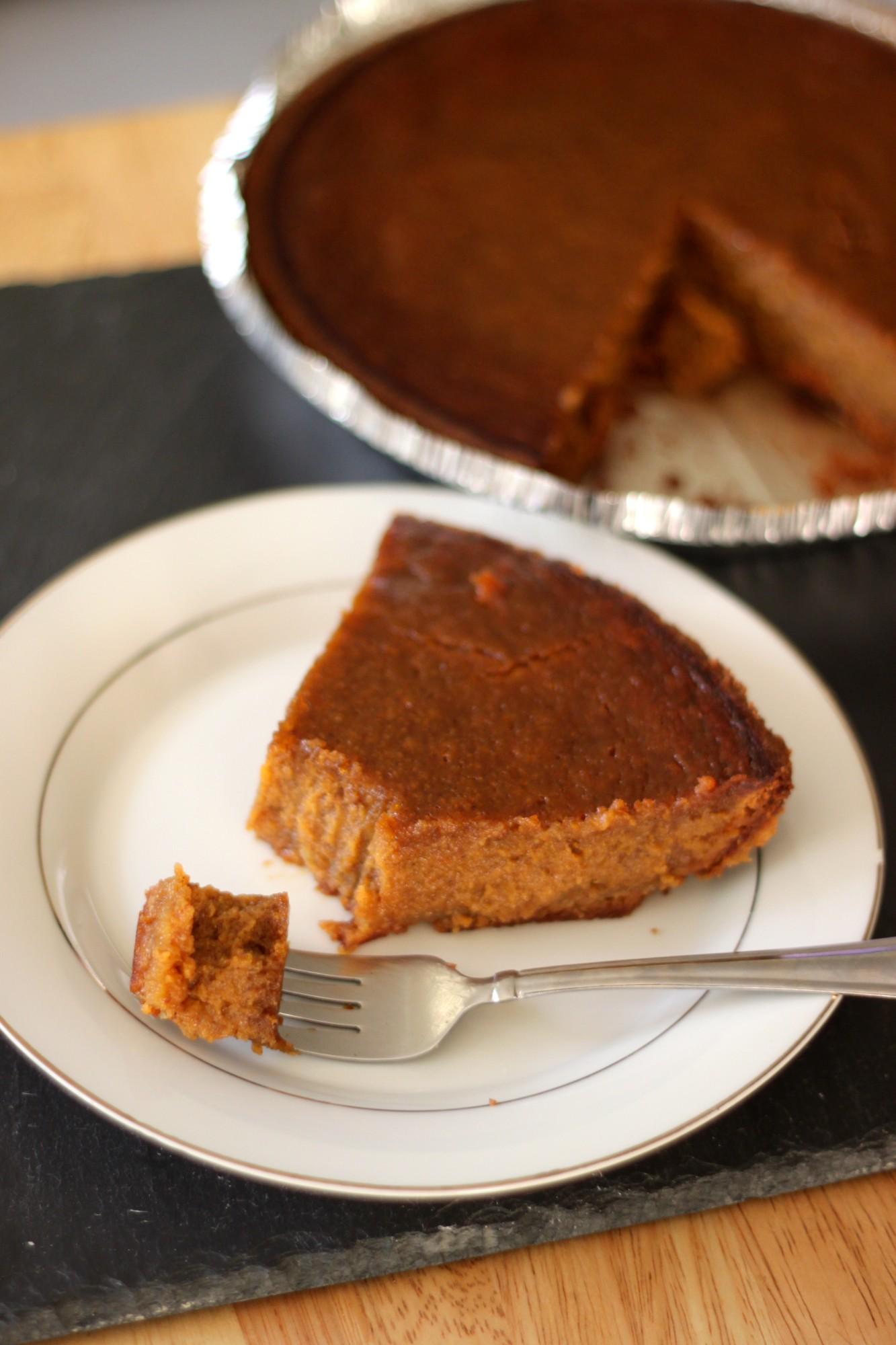 National Pumpkin Pie Day | Butterscotch Pumpkin Pie