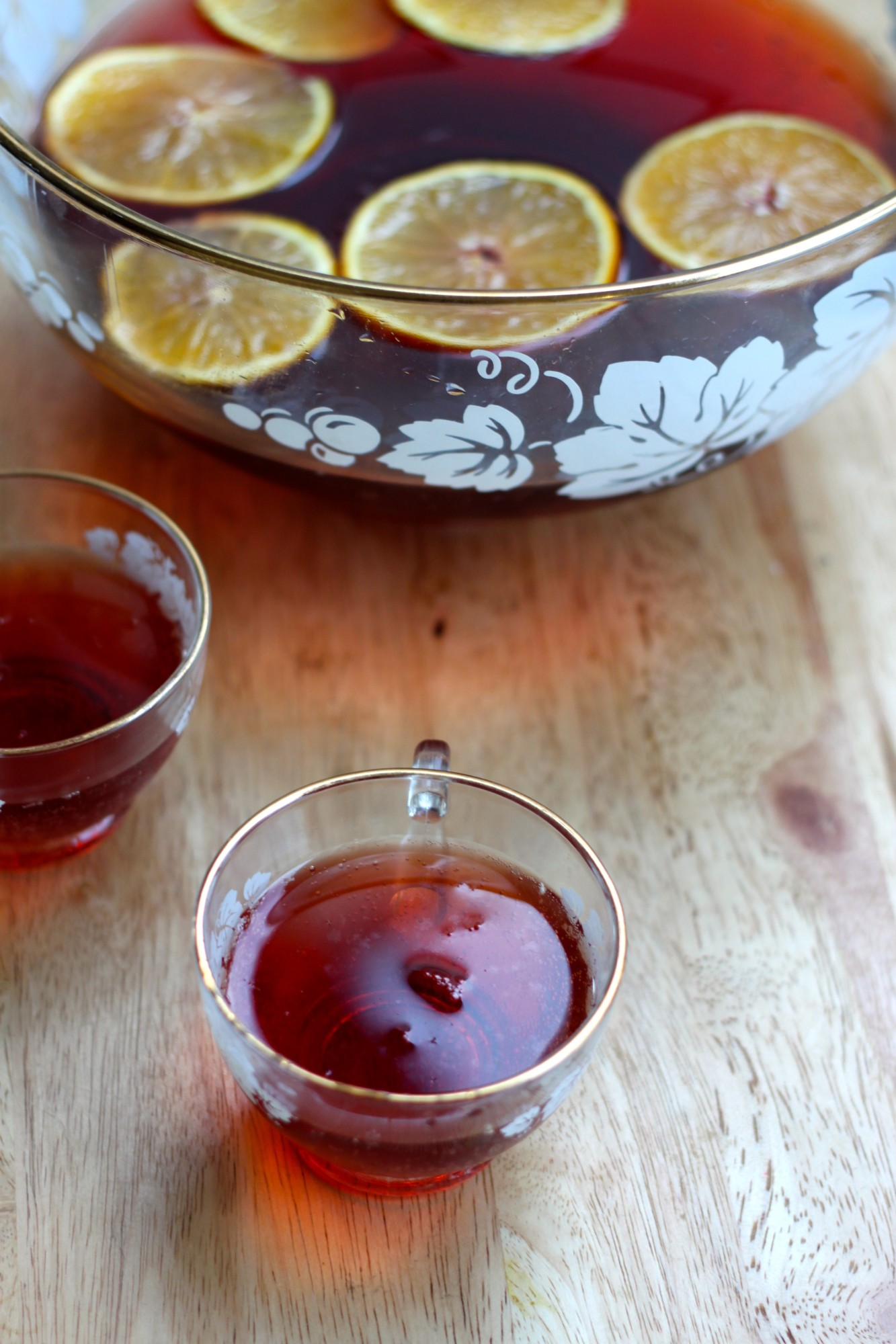 National Champagne Day | Cranberry Champagne Punch