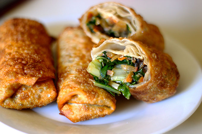 Easy Vegetarian Egg Rolls – The Foodie Patootie Vegetarian Egg Rolls