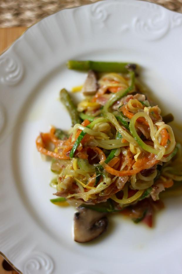 Vegetable Carbonara