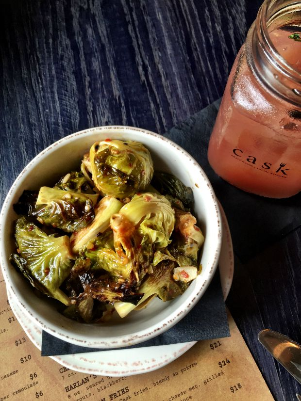 cask social brussels sprouts