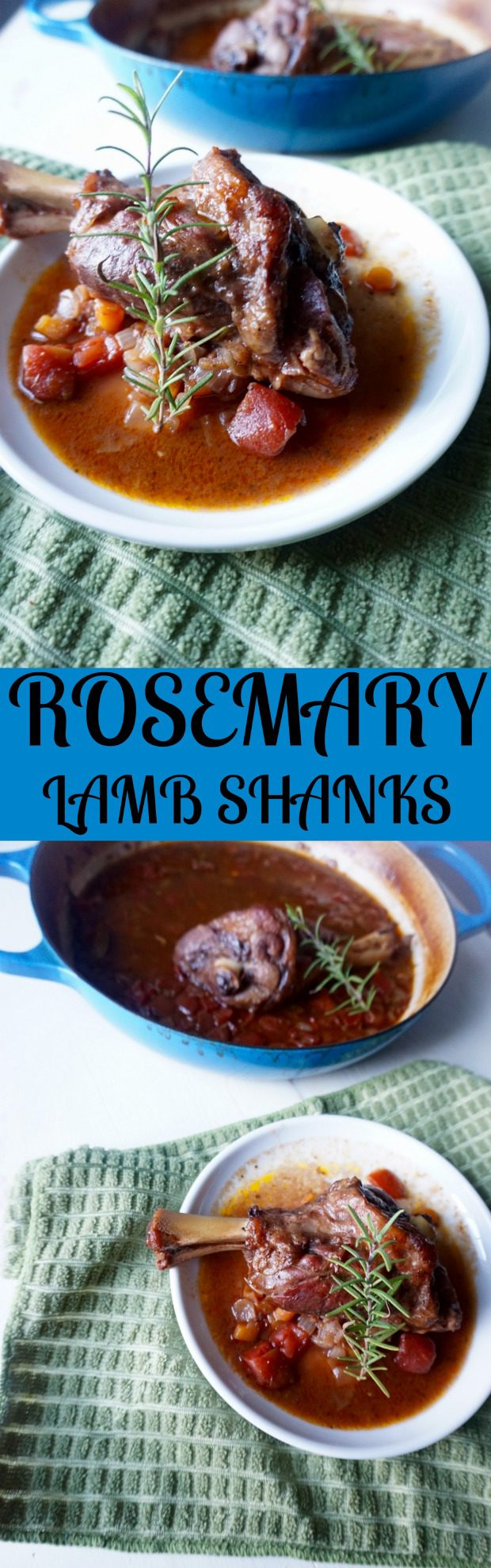 Rosemary Lamb Shanks recipe | TheFoodiePatootie.com