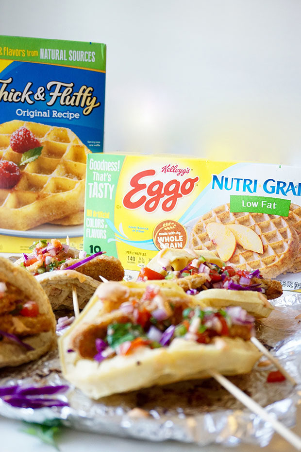 eggo-nutrigrain-chicken-tacos