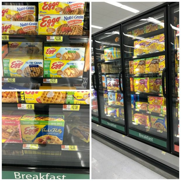 Eggo Waffles at Walmart