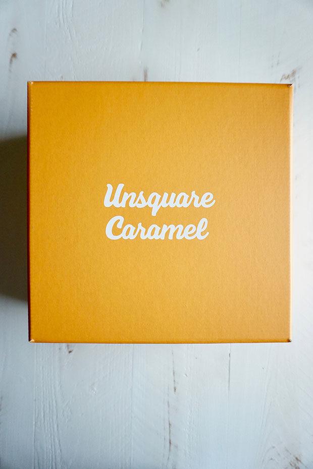 Unsquare Caramel box