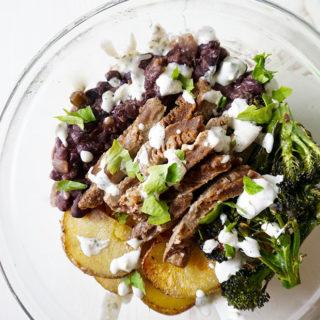latin vegetarian power bowl