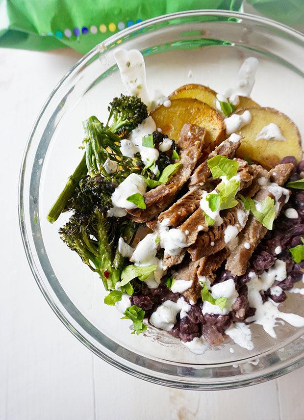 vegetarian power bowl