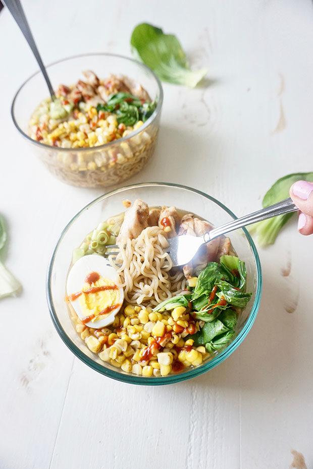 kung pao ramen noodle bowl recipe