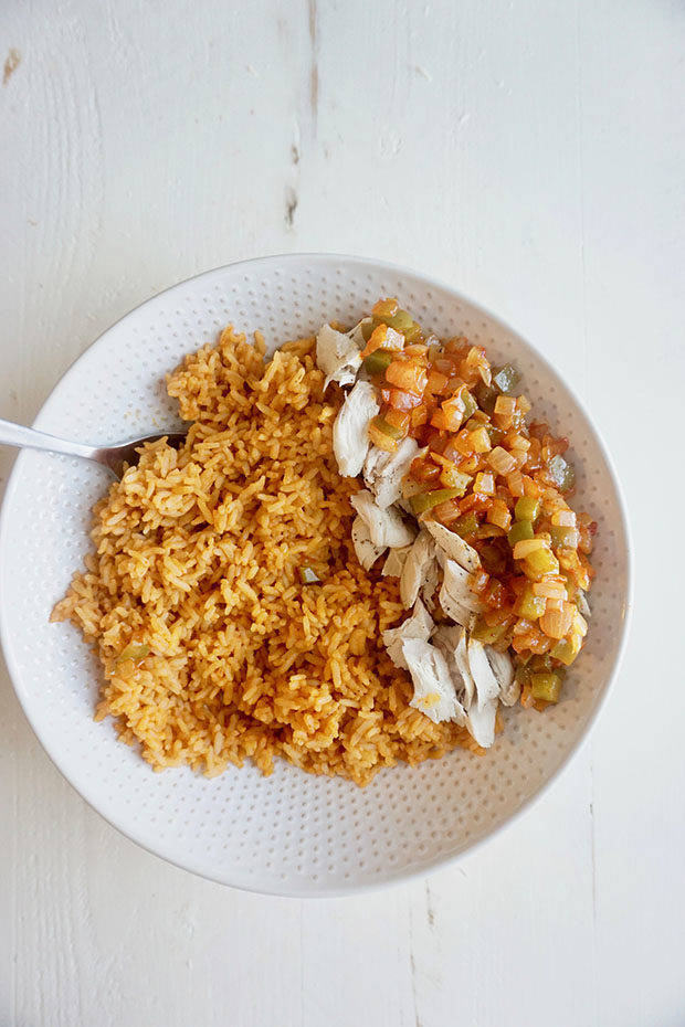 Chicken and spanish rice