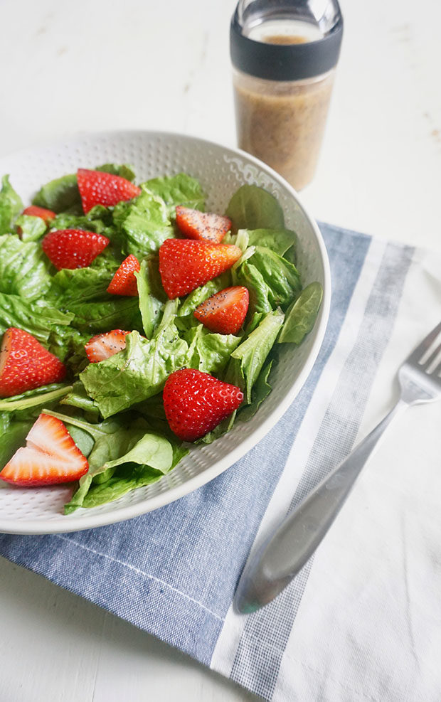 Strawberry Poppyseed Salad recipe