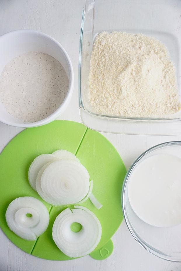 onion ring prep items