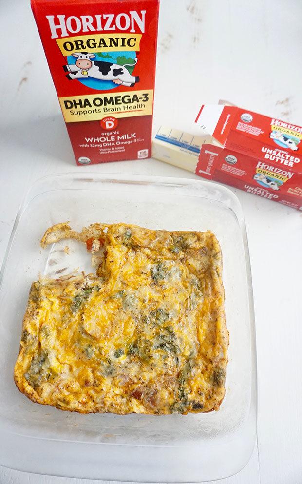 Breakfast Casserole with Horizon Organic