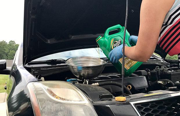 Quaker State oil DIY oil change