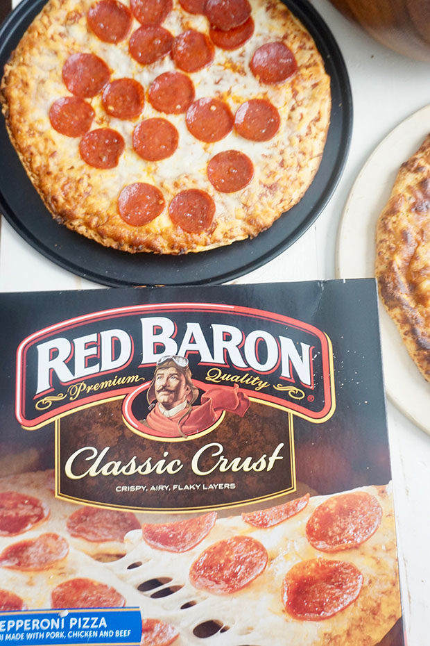 Red Baron frozen pizzas