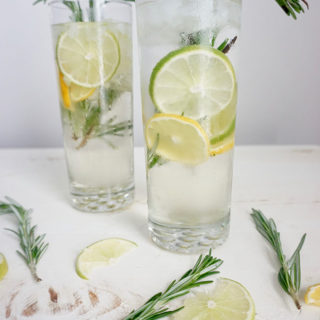 Rosemary Citrus Prosecco cocktail recipe