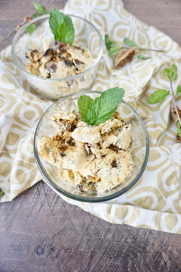 Fig Mint Ice Cream