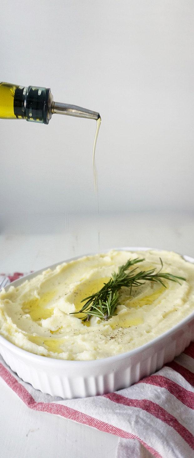 Olive Oil Mashed Potatoes