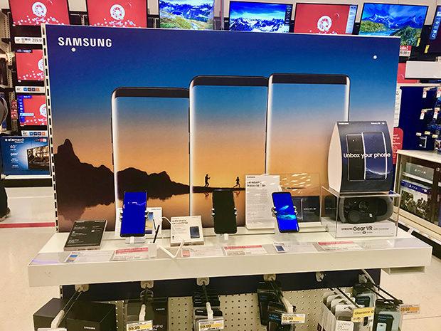 Samsung Galaxy Note8 at Target - 2