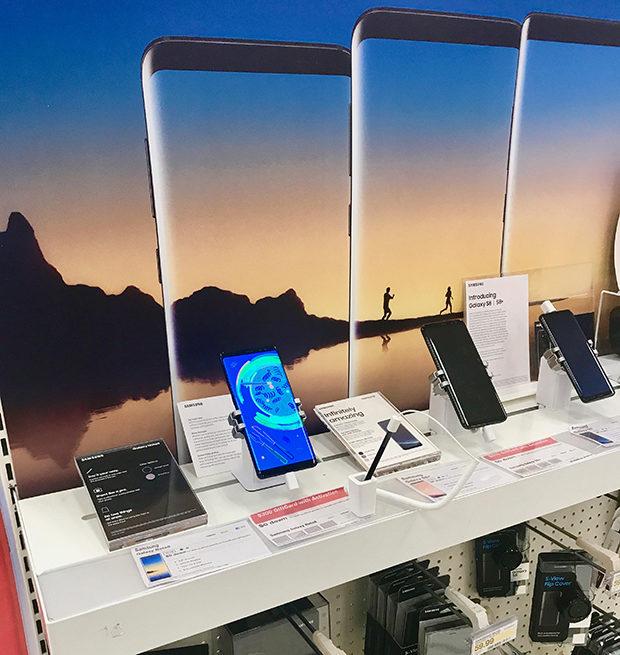 Samsung Galaxy Note8 at Target