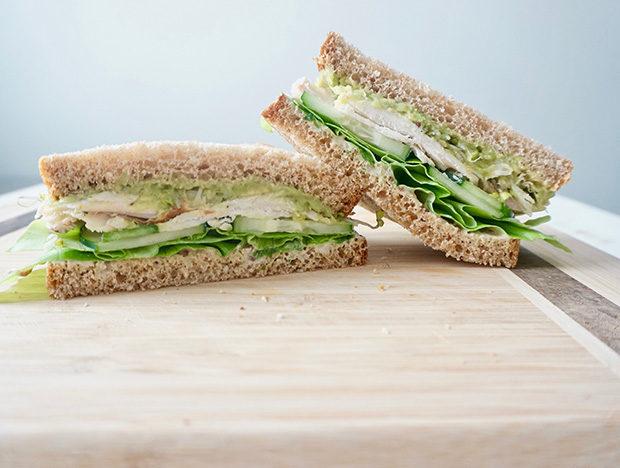 Avocado and Greens Sandwich -2