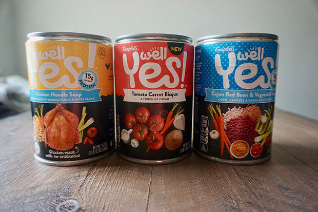 Campbell's Well Yes! soups